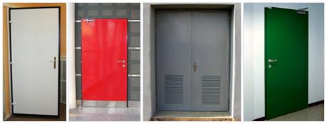 Protipožární ocelové dveře